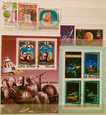 Space Astronauts Planets Astronomy Kepler 2 Mini Sheets Thematic Stamps 25290918