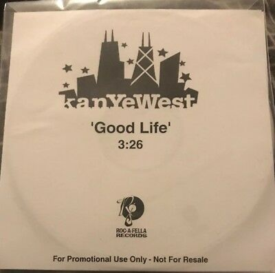 Kanye West - Good Life Promo Cd.              Radio Version