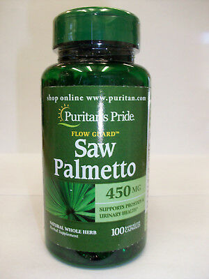 Saw Palmetto Flow Guard 450 mg 100 Capsules