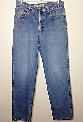 1849a366 Indigo Palms Tommy Bahama Relaxed Fit Denim Jeans Mens Medium Wash size 34 x  34