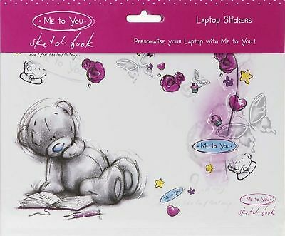 Me To You Tatty Teddy Bear Sketchbook Smiles Collectors - Laptop Sticker