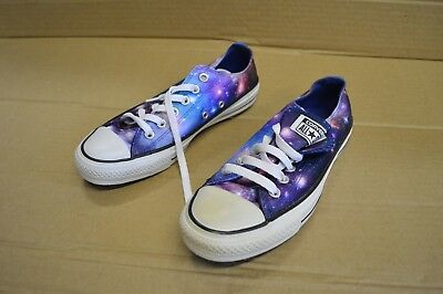 Converse Chuck Taylor All Star Shoes Display 143963C Midnight Lake Galaxy Unisex