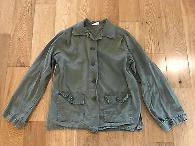 Vintage Army Fatigue Jacket S/M