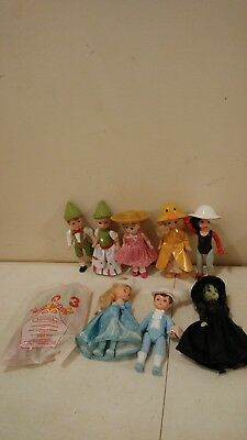 Lot of 2 MADAME ALEXANDER McDONALD/'S HAPPY MEAL COLLECTIBLE DOLLS Black
