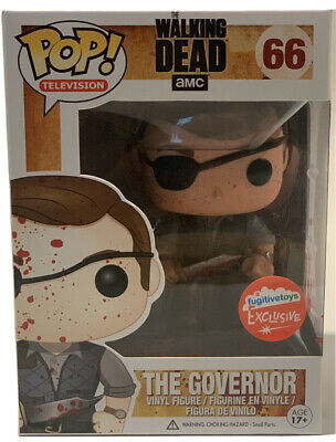 Funko Pop Walking Dead The Governor Exclusive W/ Protector