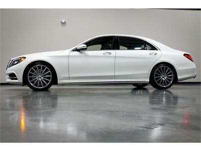 2015 Mercedes-Benz S-Class AMG SPORT 2015 MERCEDES BENZ S550 AMG SPORT S 550 WARMTH AND COMFORT PKG 20 WHEELS LOADED!