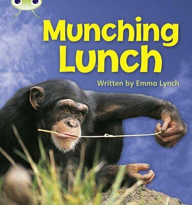 Munching Lunch: Bug Club Phonics Bug Non-fiction Set... by Lynch, Emma Paperback