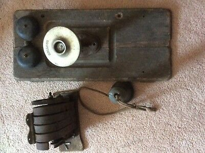 Vintage KELLOGG telephone parts