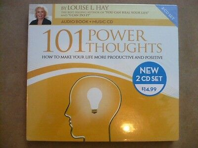 101 Power Thoughts - Louise L. Hay (2CD) NEW