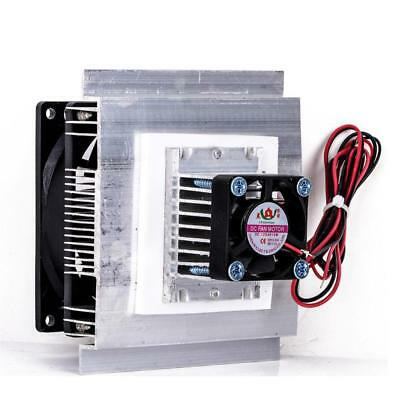 12V Thermoelectric Peltier Refrigeration Cooling Heatsink Cooler Fan System Kit