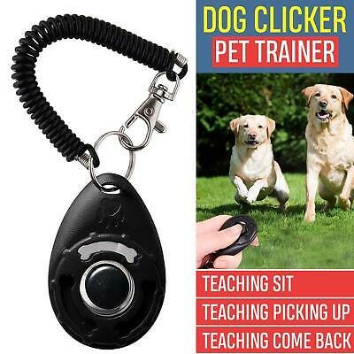 Dog Clicker Pet Training Clicker Trainer Teaching Tool For Dogs Puppy