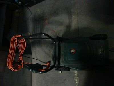 Black And Decker Gr230 Lawn Mower, Flymo Strimmer And A Lawn Feeder Ham218 76402