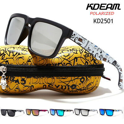 KDEAM Sunglasses Polarized Glasses Driving Outdoor Sports Fishing Eyewear Mens