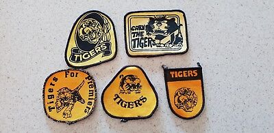 Richmond tigers patch badge crest footy football AFL VFL