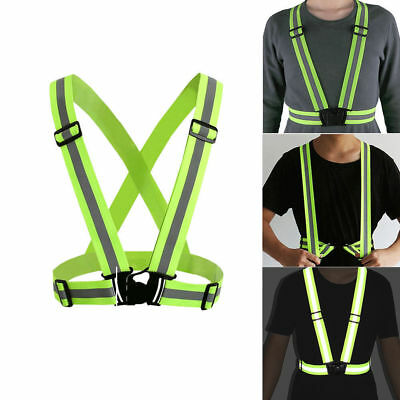 Hi Viz Vest High Vis Safety Visibility Waistcoat Jacket Reflective Belt Vests UK