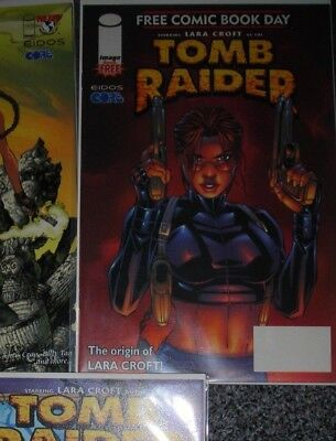 Tomb Raider free comic book day #1 2002 IMAGE COMICS ANDY PARK COVER NM MORE