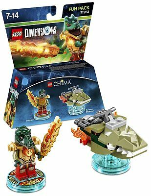 Lego Dimensions Chima Cragger Fun Pack (NEW) (PS3/PS4/XBOX ONE/360/WII U)