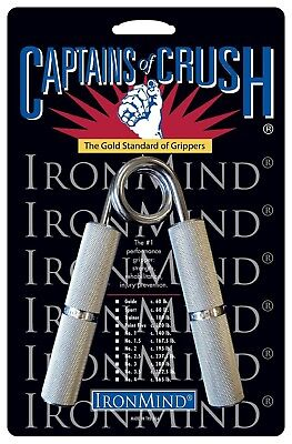 New IronMind Captains of Crush Hand Grippers Grip Strengthening - All Sizes