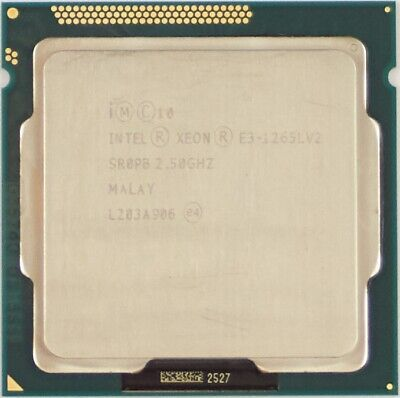 Intel Xeon E3-1265L-V2 (SR0PB) 2.50GHz 4-Core LGA1155 CPU