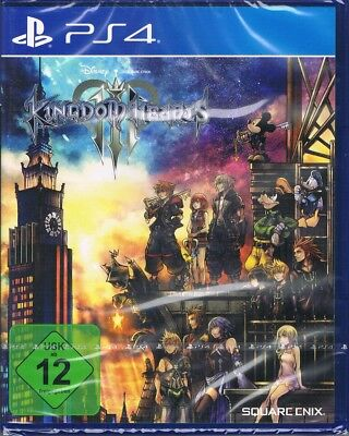 Playstation 4 PS4 Spiel Kingdom Hearts III 3 NEU