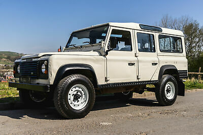 Land Rover Defender 110 200 Tdi County Station Wagon LHD 1990 USA EXPORTABLE