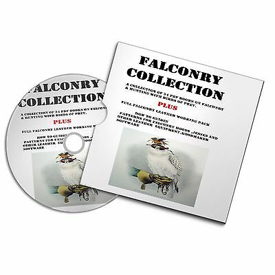 Hawking Collection Pdf Books Leather Pattern Templates Hood Software Falconry