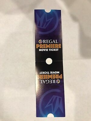 (2) Premiere Movie tickets Regal, United Artists, Edwards Theaters