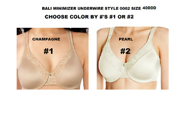 39ea995a47 Bali Minimizer Convert Underwire Size 40Ddd Pick Color By   s New tag Style