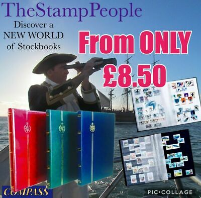 SELECT ANY VARIANT ⭐️ STAMP STOCKBOOK - A4 Stamp Stock book Albums