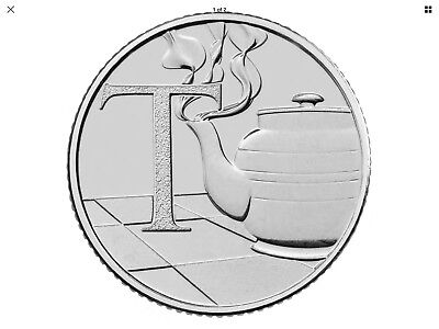 """2018 NEW Uncirculated 10p Coin """"Tea"""" By The Royal Mint T"""