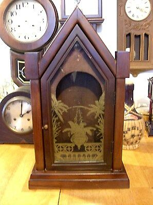 Large Steeple 31 Day  clock Case. Parts or Repair (Case Only)