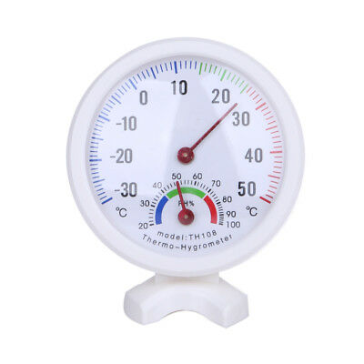 Mini Bell-shaped Scale Thermometer Hygrometer Home Temperature Humidity Meter