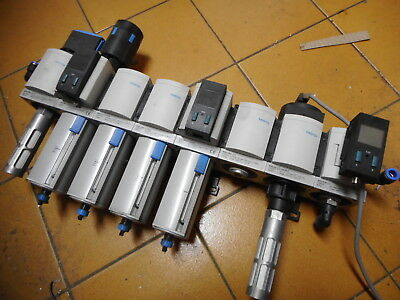 FESTO AIR SERVICE UNIT -- REG/FILTER/PRESSURE SWITCH -- MICRO FILTERS and MORE