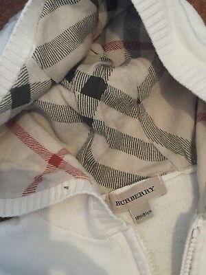 Burberry Baby Boy 18 Months Cardigan
