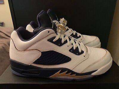 765de7ed1a4fc3 NEW NIKE AIR Jordan 5 V Low Retro