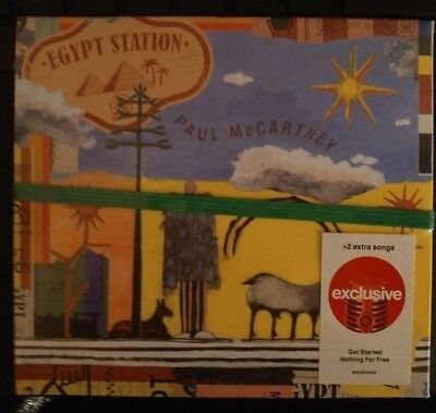 Paul McCartney Egypt Station Target Edition CD With Bonus Tracks EX!