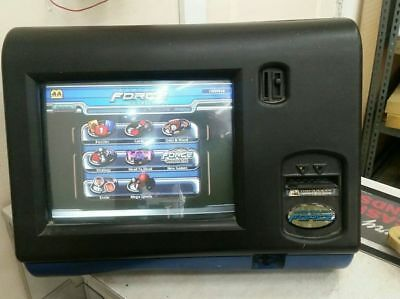 MegaTouch Force 2003 Bartop Arcade Machine with Bill Acceptor and Keys