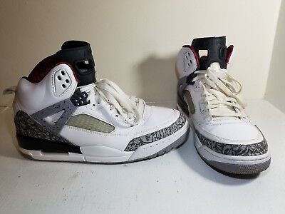 the best attitude c19a3 e5bcf Nike Air Jordan Spizike White Cement Men s Size 10 315371-122