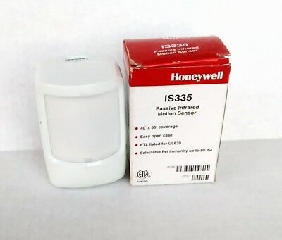 """is335 Honeywell Motion Detector New In Box 40x56"""" Coverage"""