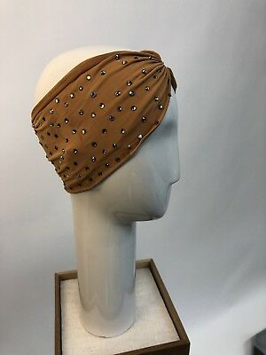 Tan/brown Ballroom Latin Salsa Dance Costume Jewelry Accessories Headband