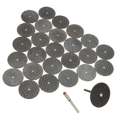 New 100Pcs 32mm Fiberglass Reinforced Cut Off Wheel Discs For FIT Rotary To O4V8