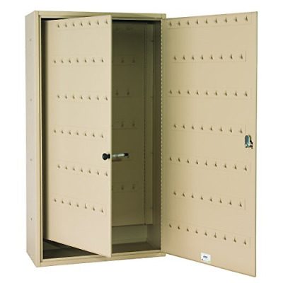 Steelmaster Fob-Friendly Key Cabinet, 31.125 x 16.5 x 8 Inches, 130-Key Sand