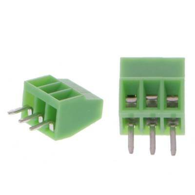 10 Pcs 2Pin-10Pin 2.54mm PCB Screw Mounted Terminal Blocks Connector Pitch