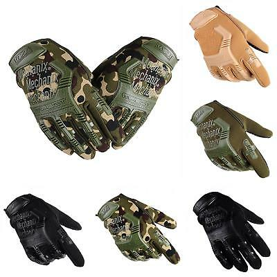 Outdoor Men Combat Wear Army Military Tactical Swat Soldier Gloves Full Finger