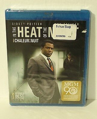 In The Heat Of The Night blu-ray NEW & FACTORY SEALED Sidney Poitier