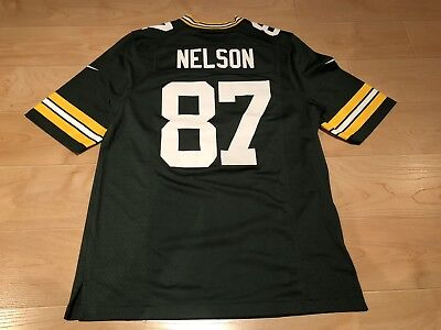 NIKE GREEN BAY Packers 87 Jordy Nelson Green Stitched Limited Jersey  for cheap