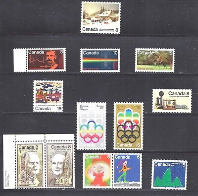 Canada SELECTION OF MINT NH STAMPS SCOTT 610/679 (BS11722)