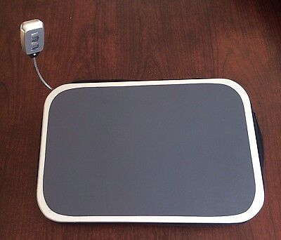 Laptop Desk Tray Notebook Portable Table Bed Computer Lap Stand Work Light