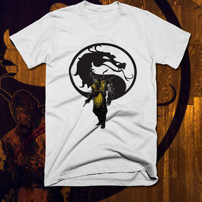 MORTAL KOMBAT X Finish Him Sub Zero T Shirt Made In USA