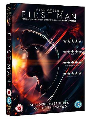 FIRST MAN (2018): Ryan Gosling as Neil Armstrong, Moon Apollo - Rg2 DVD not US